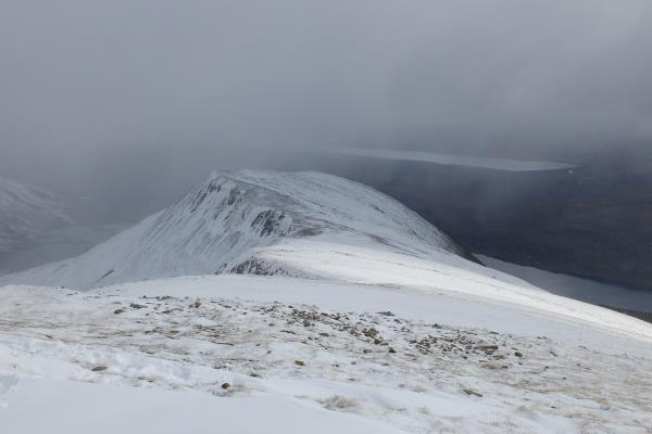 Photo of Looking back to Sgor Eilde Beag