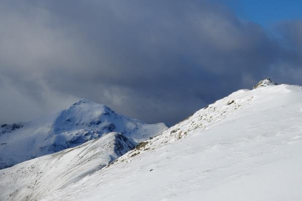 Photo of Am Bodach in distance