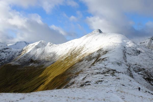 Photo of Looking up to Stob Coire a' Chairn