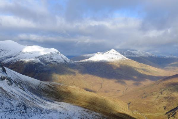 Photo of Looking over to Grey Corries