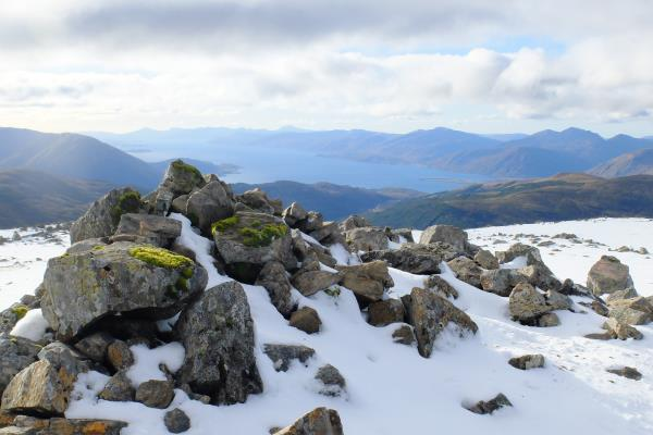 Photo of Looking over to Loch Linnhe from top of Meall a' Chaorainn
