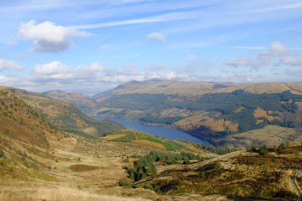 Photo of Looking down to Loch Lubnaig