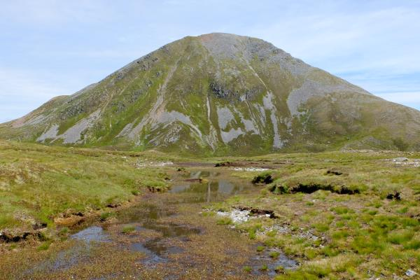 Photo of Initial view of Sgurr Eilde Mor