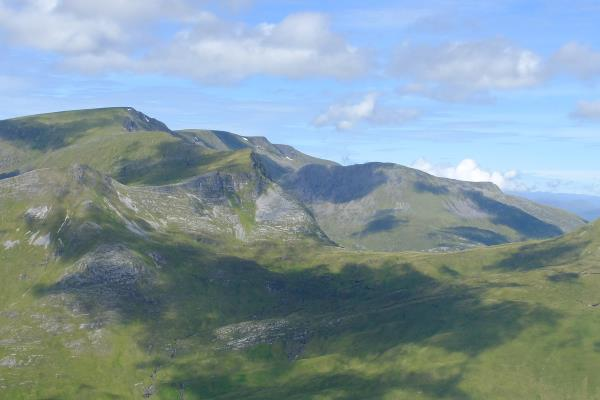 Photo of Looking north to Aonach Beag and Aonach Mor