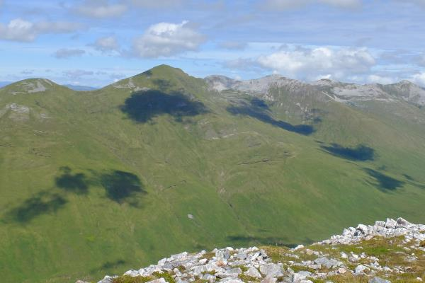Photo of Western end of the Grey Corries