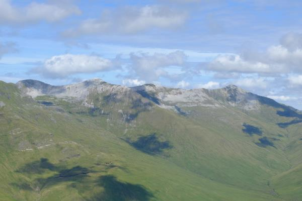 Photo of Eastern end of the Grey Corries