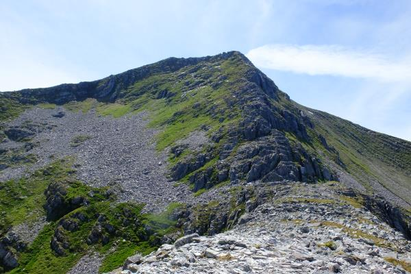 Photo of Almost at top of Binnein Mor