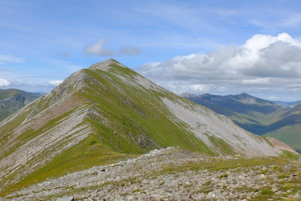 Photo of Looking back at Binnein Mor