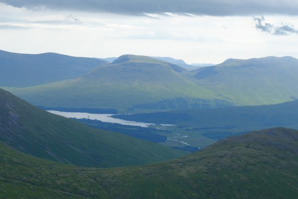 Photo of Looking south east from Meall nan Eun