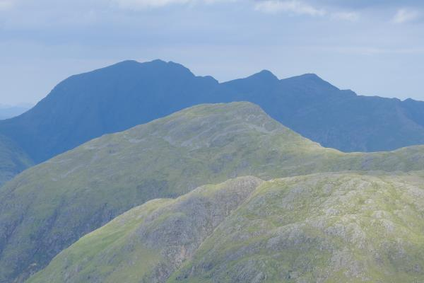 Photo of Glen Coe hills in the distance