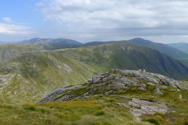 Photo of Looking over to Meall nan Eun