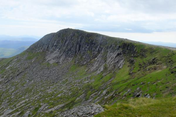 Photo of Summit of Stob Coir an Albannaich seen from its northern ridge