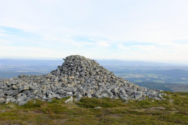 Photo of Carn Chainicbin (King Kenneth's Cairn) at NN820,287