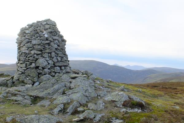 Photo of Cairn to east of Loch Turret Reservoir