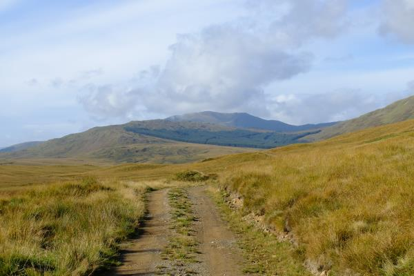 Photo of Ben Ledi in the distance