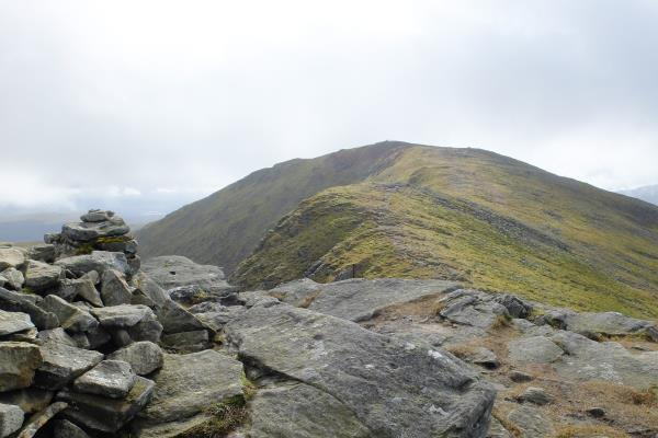 Photo of Looking back to the top of Stuc a' Chroin before descending