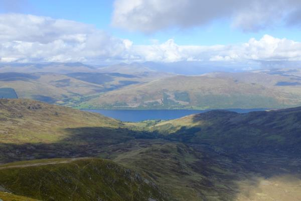 Photo of Looking north to Loch Earn
